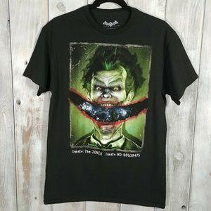 Batman Arkham Asylum Joker Graphic T-shirt Size M